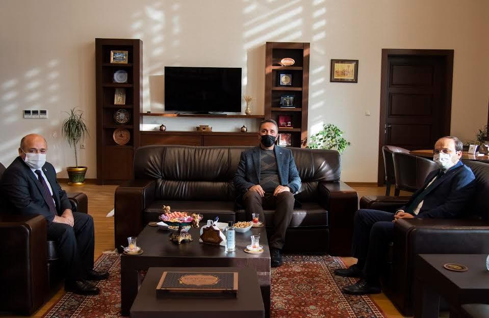 Erzurum Teknik Üniversitesi Rektörüne Ziyaret